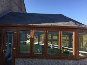 After Replacement of Conservatory Windows & Roof