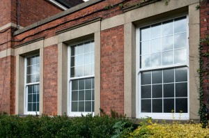 Vertical Sliding Box Sash uPVC Windows Carmarthenshire